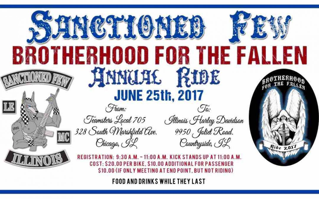 Sanctioned Few Annual Ride – June 25