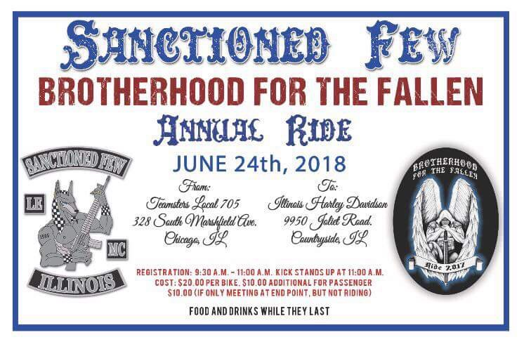 Brotherhood for the Fallen Motorcycle Event
